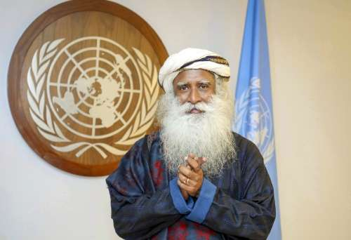 Sadhguru at the United Nations