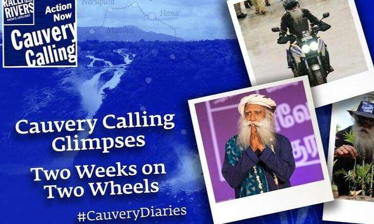 Cauvery Calling is officially launched