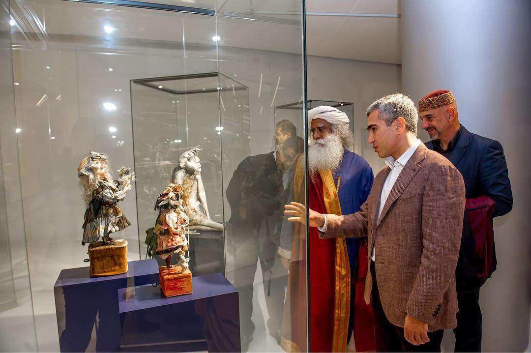 Sadhguru at the Museum in Baku, Kiev