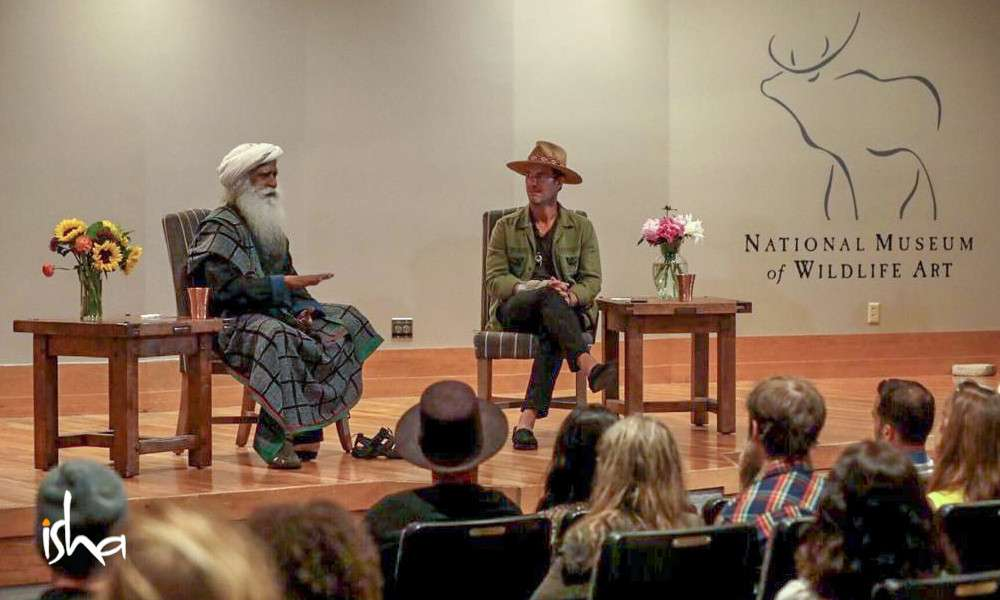 isha blog article | sadhguru in united states : coast to coast