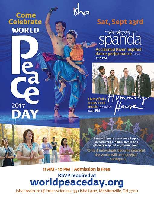 World Peace Day eflyer