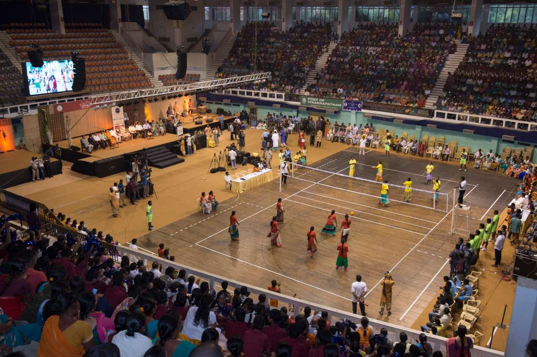 Isha Gramotsavam 2018 - Celebrating the Sporting Spirit of